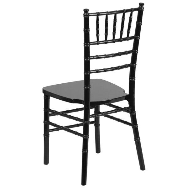 Chiavari Seating Black Wood Chiavari Chair