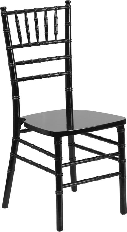 Wholesale HERCULES Series Black Wood Chiavari Chair