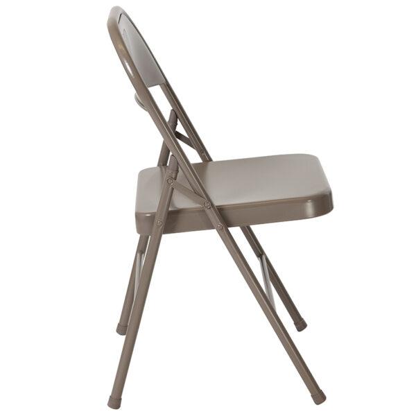 Metal Folding Chair Gray Metal Folding Chair