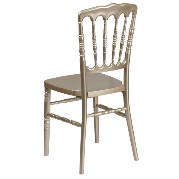 Chiavari Seating Gold Resin Napoleon Chair
