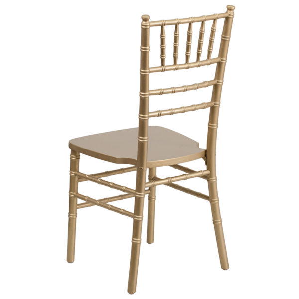 Chiavari Seating Gold Wood Chiavari Chair
