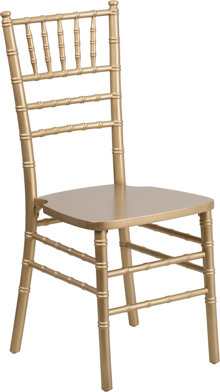 Wholesale HERCULES Series Gold Wood Chiavari Chair
