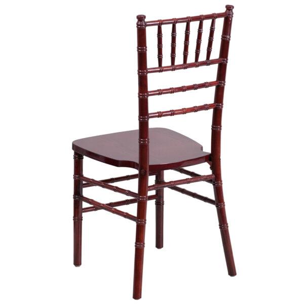 Chiavari Seating Mahogany Wood Chiavari Chair