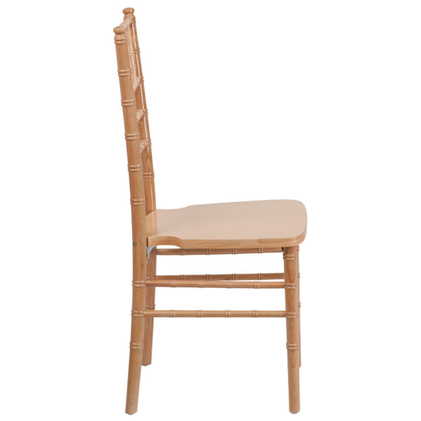 Lowest Price HERCULES Series Natural Wood Chiavari Chair
