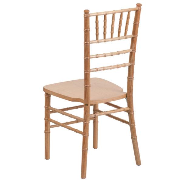 Chiavari Seating Natural Wood Chiavari Chair