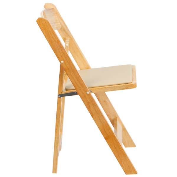 Wood Folding Chair Natural Wood Folding Chair