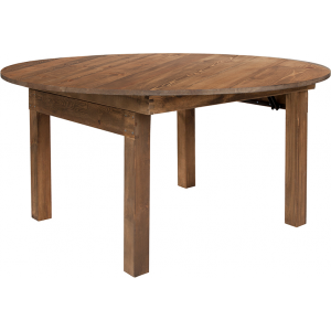 Wholesale HERCULES Series Round Dining Table | Farm Inspired