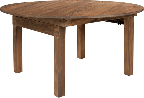 Wholesale HERCULES Series Round Dining Table   Farm Inspired