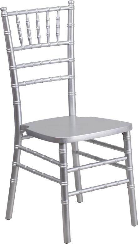 Wholesale HERCULES Series Silver Wood Chiavari Chair