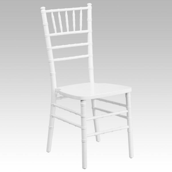 Wholesale HERCULES Series White Wood Chiavari Chair
