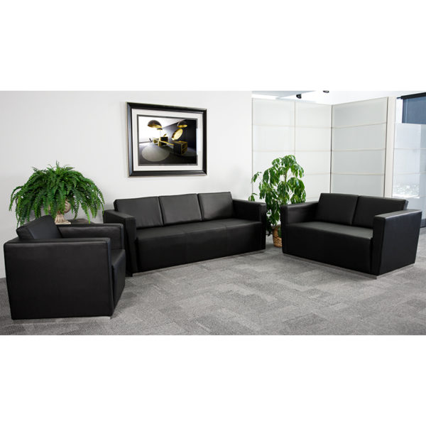 Wholesale HERCULES Trinity Series Reception Set in Black