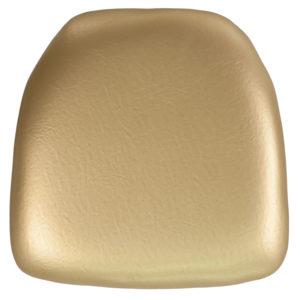 Wholesale Hard Gold Vinyl Chiavari Chair Cushion