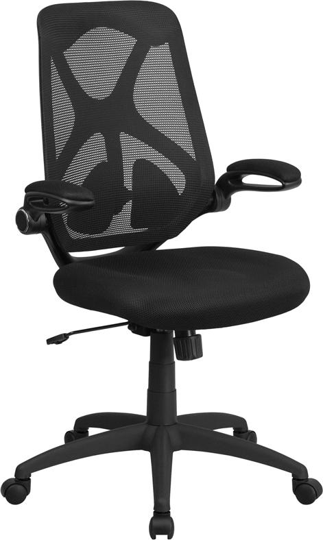Wholesale High Back Black Mesh Executive Swivel Ergonomic Office Chair with Adjustable Lumbar