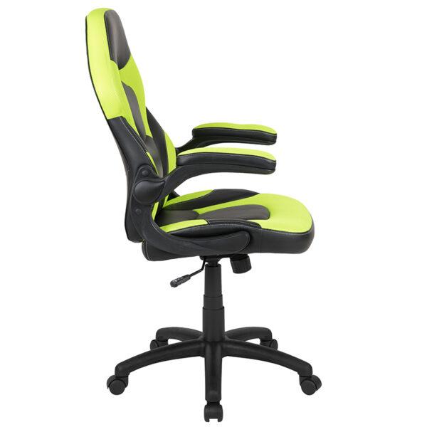 Neon Green/Black LeatherSoft