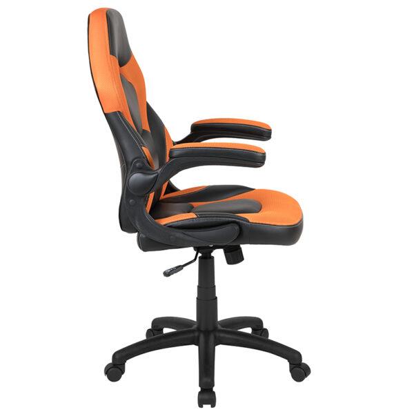 Orange/Black LeatherSoft