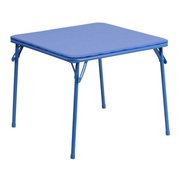 Wholesale Kids Blue Folding Table