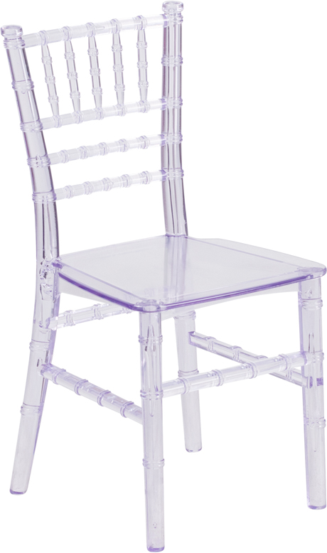 Wholesale Kids Crystal Transparent Chiavari Chair