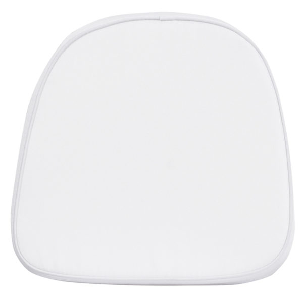 Wholesale Kids Soft White Fabric Chiavari Chair Cushion