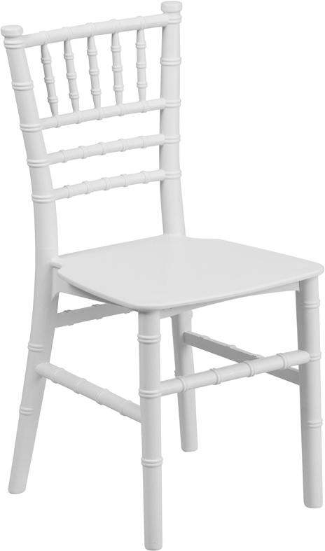 Wholesale Kids White Resin Chiavari Chair