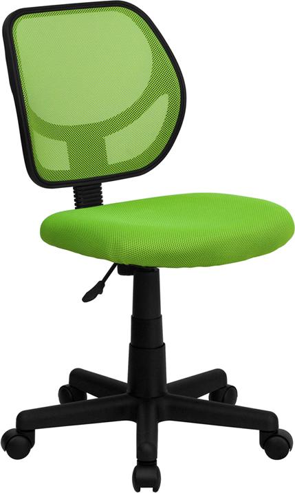 Wholesale Low Back Green Mesh Swivel Task Office Chair