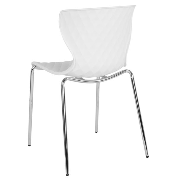 Multipurpose Stack Chair White Plastic Stack Chair