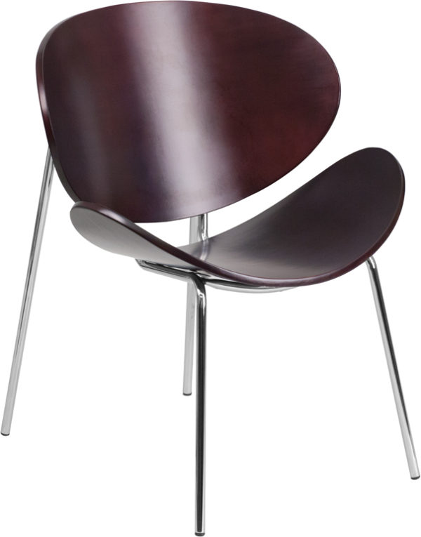 Wholesale Mahogany Bentwood Leisure Side Reception Chair