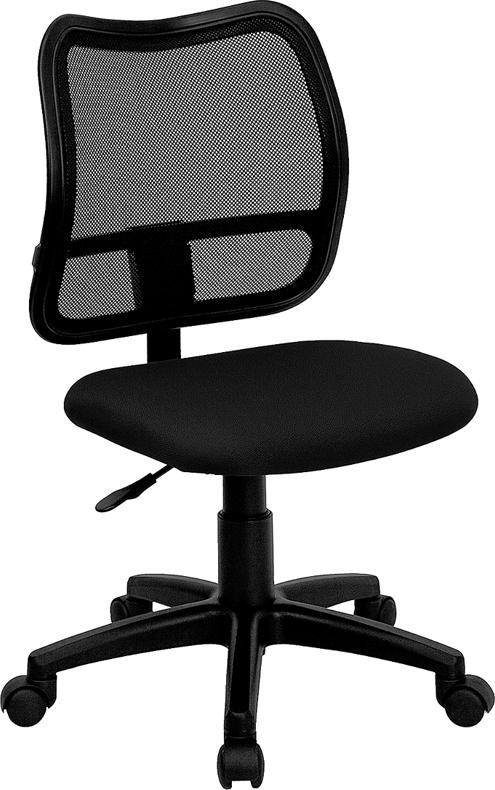 Wholesale Mid-Back Black Mesh Swivel Task Office Chair