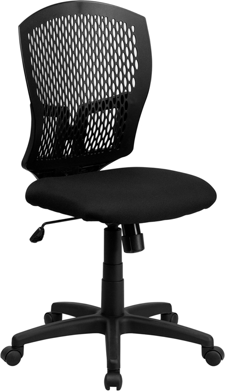 Wholesale Mid-Back Designer Back Swivel Task Office Chair with Fabric Seat