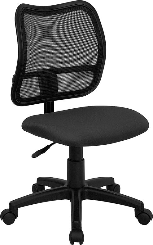 Wholesale Mid-Back Gray Mesh Swivel Task Office Chair
