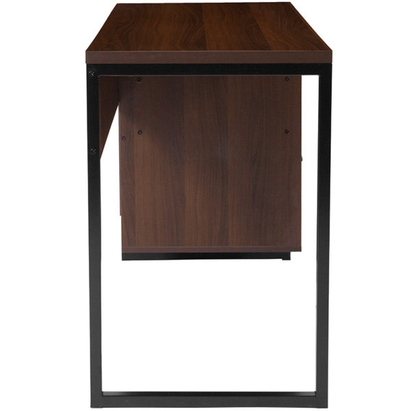 Rustic Style Rustic Coffee Computer Desk