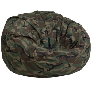 Wholesale Oversized Camouflage Kids Bean Bag Chair