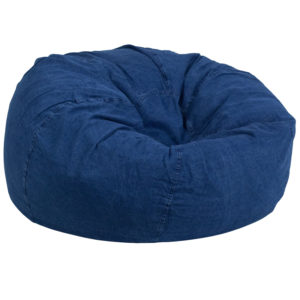 Wholesale Oversized Denim Kids Bean Bag Chair