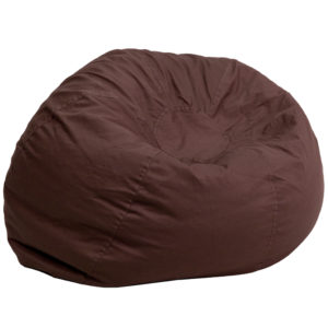 Wholesale Oversized Solid Brown Bean Bag Chair