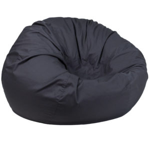 Wholesale Oversized Solid Gray Bean Bag Chair