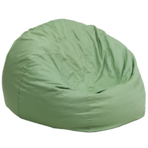 Wholesale Oversized Solid Green Bean Bag Chair