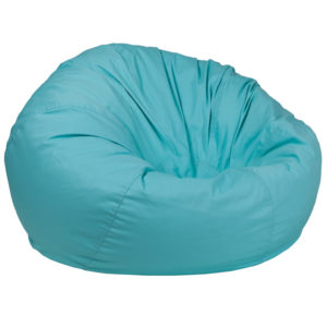 Wholesale Oversized Solid Mint Green Bean Bag Chair