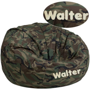 Wholesale Personalized Oversized Camouflage Kids Bean Bag Chair