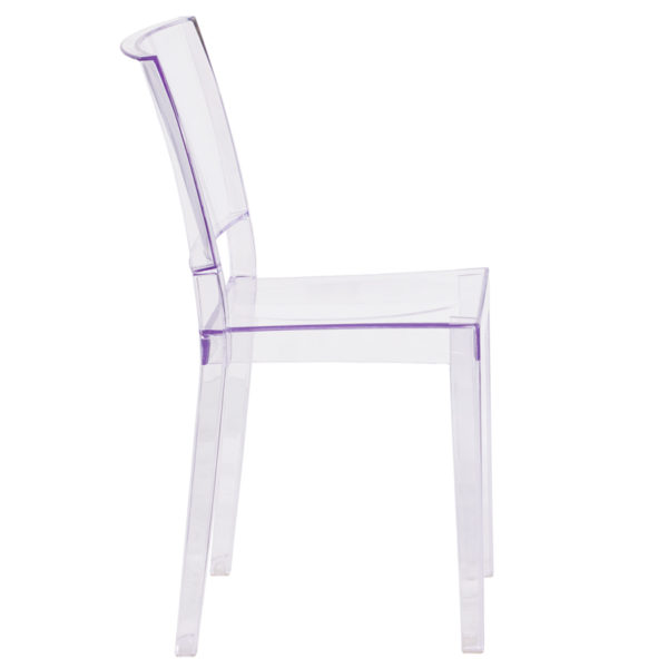 Lowest Price Phantom Series Transparent Stacking Side Chair