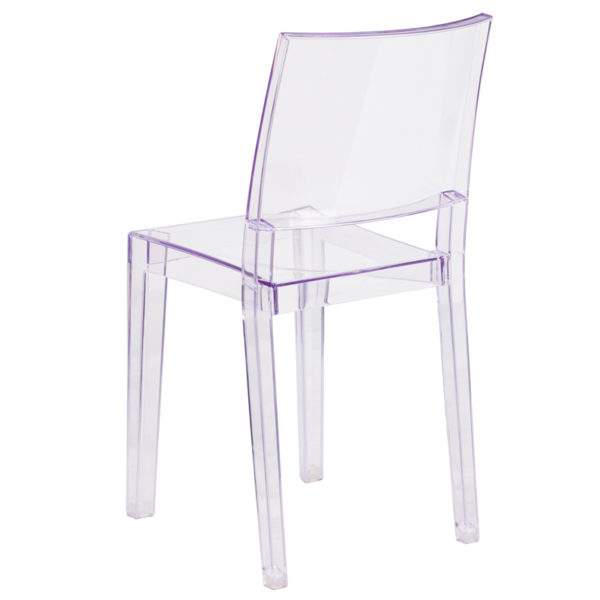 Stackable Accent Chair Clear Stacking Side Chair