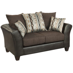 Wholesale Riverstone Rip Sable Chenille Loveseat