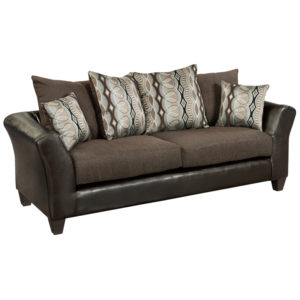 Wholesale Riverstone Rip Sable Chenille Sofa