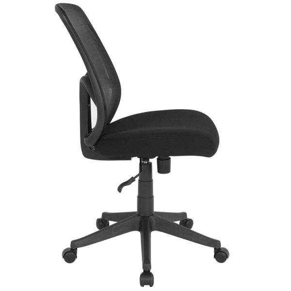 Lowest Price Salerno Series High Back Black Mesh Office Chair