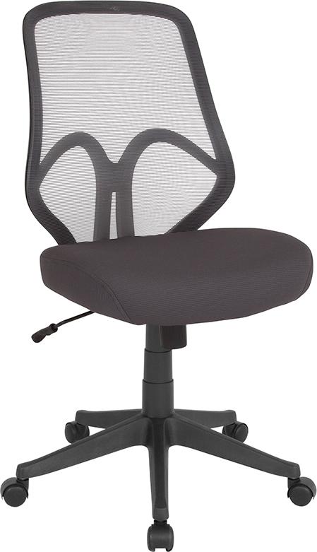 Wholesale Salerno Series High Back Dark Gray Mesh Office Chair
