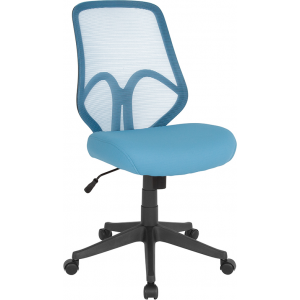 Wholesale Salerno Series High Back Light Blue Mesh Office Chair