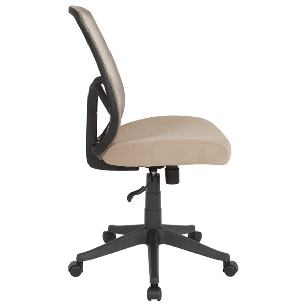 Lowest Price Salerno Series High Back Light Brown Mesh Office Chair