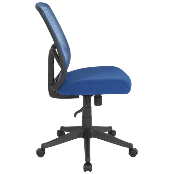 Lowest Price Salerno Series High Back Navy Mesh Office Chair