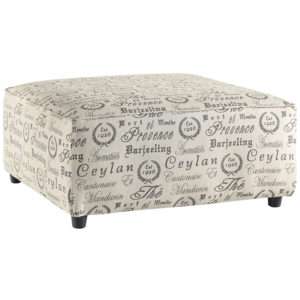 Wholesale Signature Design by Ashley Alenya Oversized Accent Ottoman in Quartz Microfiber