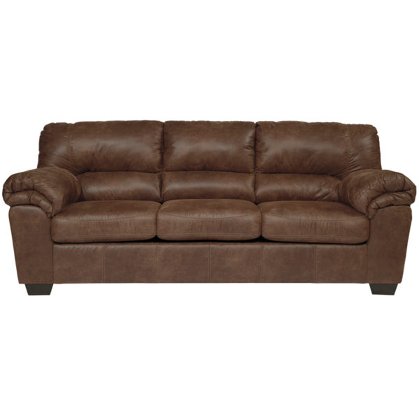 Wholesale Signature Design by Ashley Bladen Sofa in Coffee Faux Leather