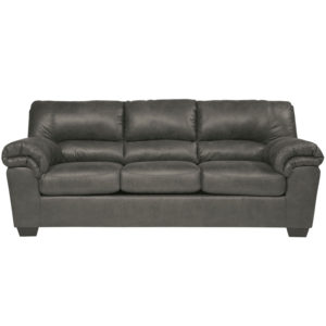 Wholesale Signature Design by Ashley Bladen Sofa in Slate Faux Leather