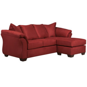 Wholesale Signature Design by Ashley Darcy Sofa Chaise in Salsa Microfiber